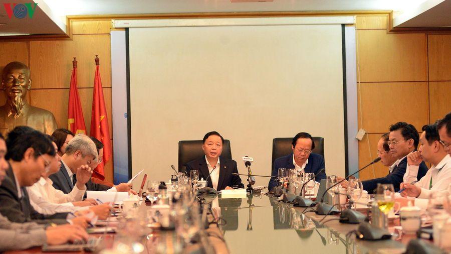 Bộ TN&MT họp sau gần 4 tháng ô nhiễm không khí nghiêm trọng ở Hà Nội