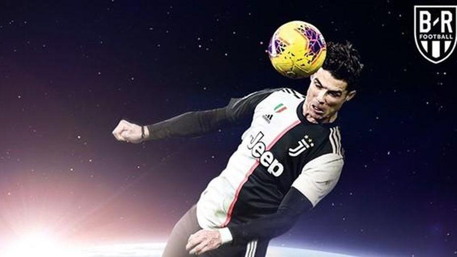 Biếm họa 24h: El Clasico lu mờ trước pha ghi bàn siêu đẳng của Ronaldo