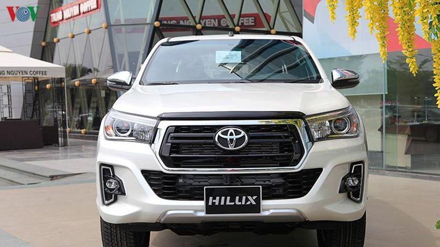 Triệu hồi 32 xe Toyota Hilux vì có thể rò rỉ nhiên liệu