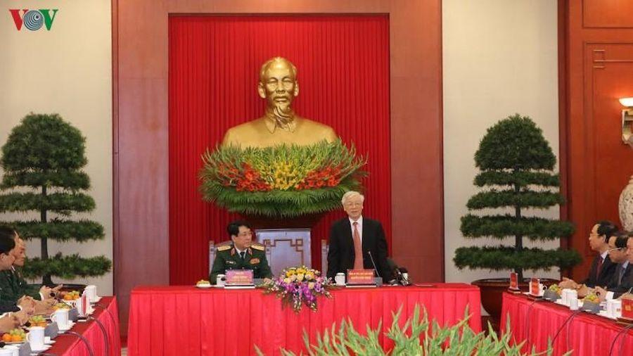 Tổng Bí thư, Chủ tịch nước gặp mặt đại biểu điển hình toàn quốc