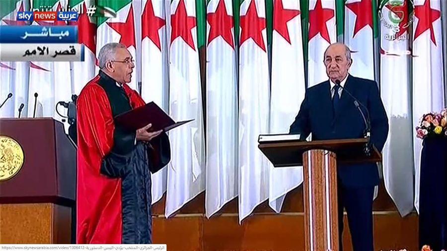 Tân Tổng thống Algeria tuyên thệ nhậm chức