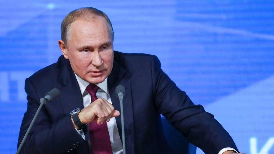 Họp báo thường niên lần thứ 15 của Tổng thống Putin