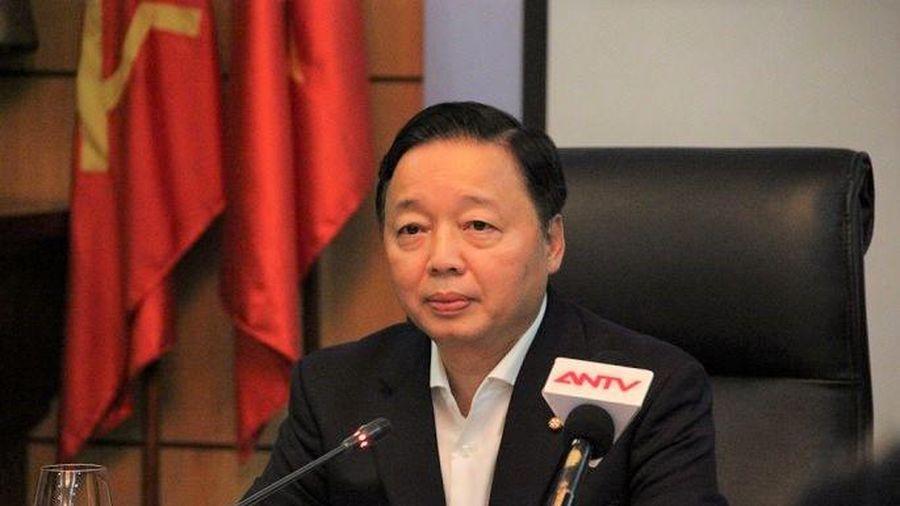 Bộ trưởng Trần Hồng Hà: Thông tin ô nhiễm không khí phải chính xác, tránh gây hoang mang cho dân