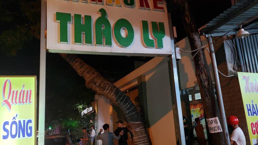 Bị công an đột kích quán karaoke, nhiều đối tượng sử dụng ma túy khóa cửa cố thủ