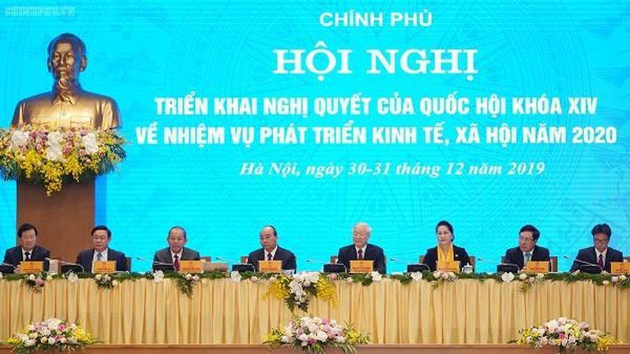 Tổng Bí thư, Chủ tịch nước Nguyễn Phú Trọng dự hội nghị Chính phủ với các địa phương