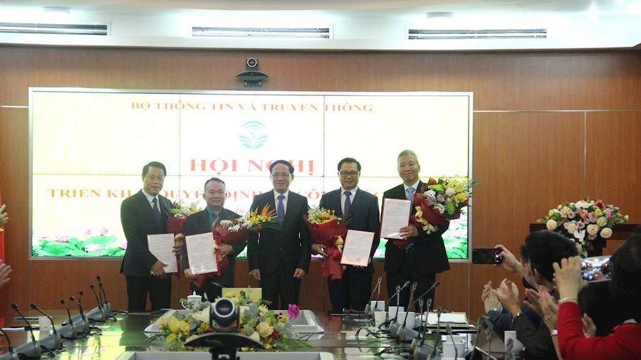 Bộ TT&TT: Bổ nhiệm ông Mai Ánh Hồng giữ chức Phó Vụ trưởng Vụ Tổ chức cán bộ