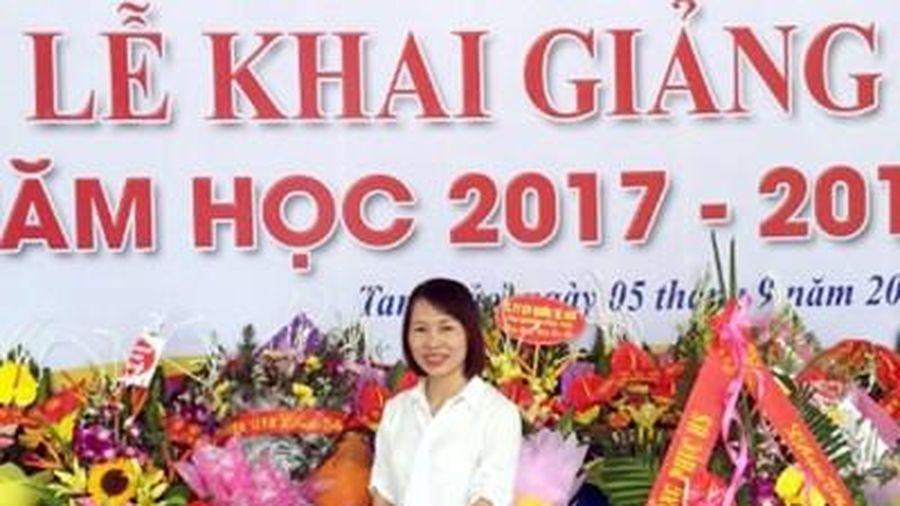 Bạn Đặng Thị Thanh Hương đạt giải Nhất Cuộc thi tuần 18