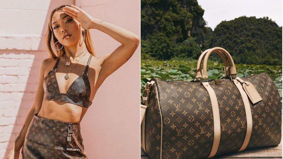 Cô gái cắt túi Louis Vuitton giá 3.000 USD để may thành váy áo sexy