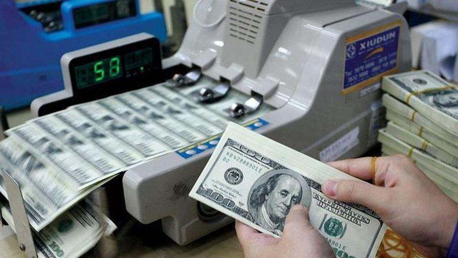 Giá trao đổi USD giảm mạnh, các ngoại tệ khác vọt tăng