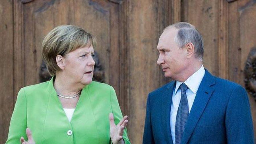 Tổng thống Putin, Thủ tướng Merkel cam kết hoàn thành Dòng chảy Phương Bắc 2