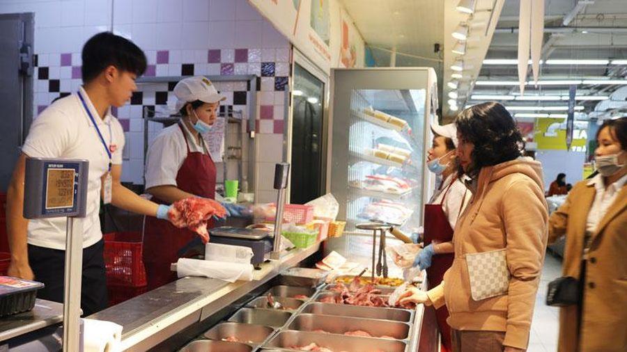 Big C và GO! giảm giá bán thịt lợn đến 20.000 đồng/kg so với trước