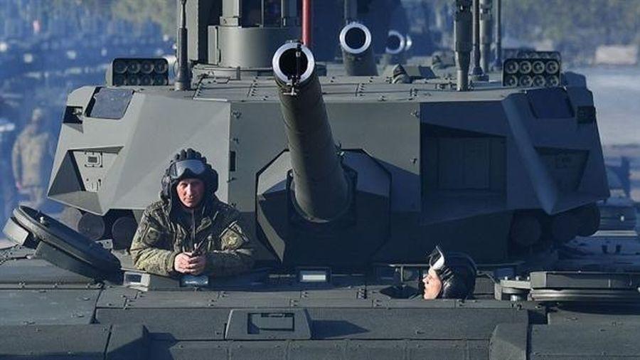 NI: Nga không thể lắp nhà vệ sinh cho T-14 Armata