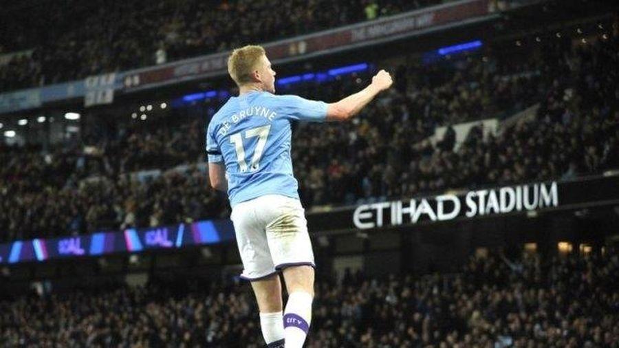 Thắng Sheffield 2-0, Man City vẫn yên vị ngôi ba