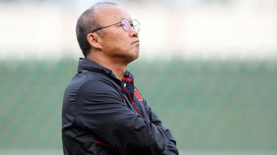 HLV Park Hang-seo: Chỉ cần thất bại, mọi thứ sẽ sớm tan biến