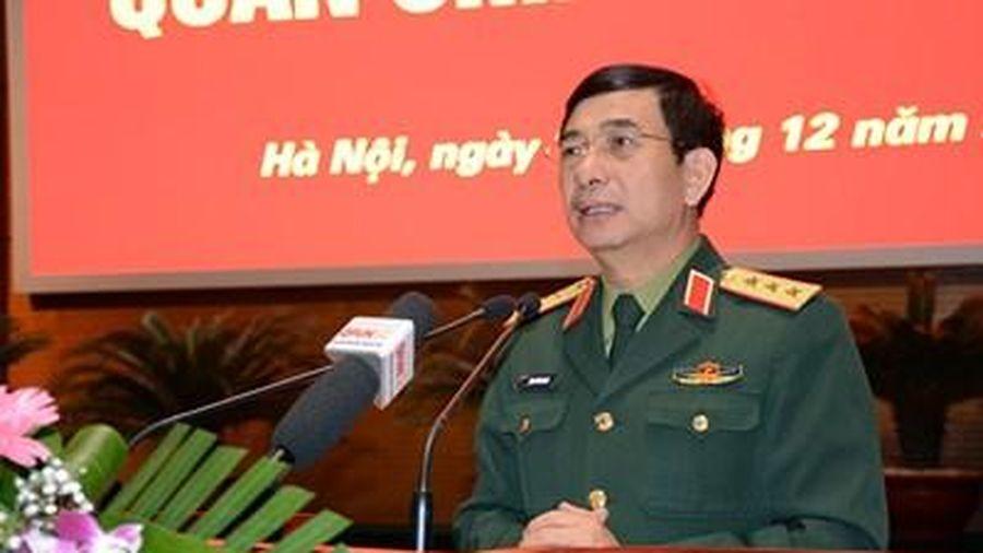 Bộ Tổng Tham mưu tổ chức Hội nghị quân chính năm 2019