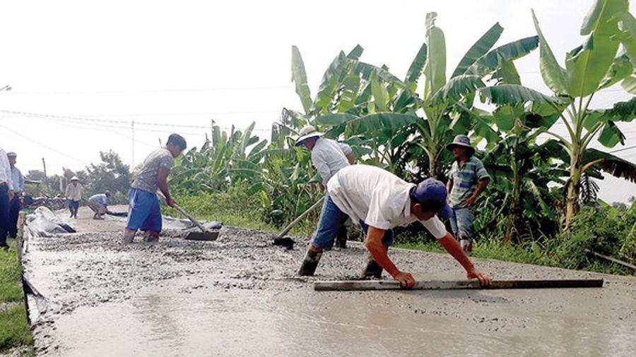 Nông dân hiến đất xây dựng nông thôn mới