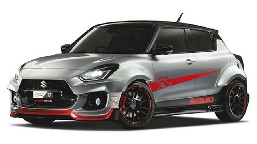 Suzuki Swift Sport Widebody sắp 'đổ bộ' Tokyo Auto Salon 2020
