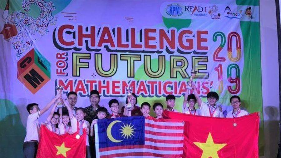 Việt Nam giành giải nhất toàn đoàn thi 'Thử thách nhà Toán học tương lai' 2019