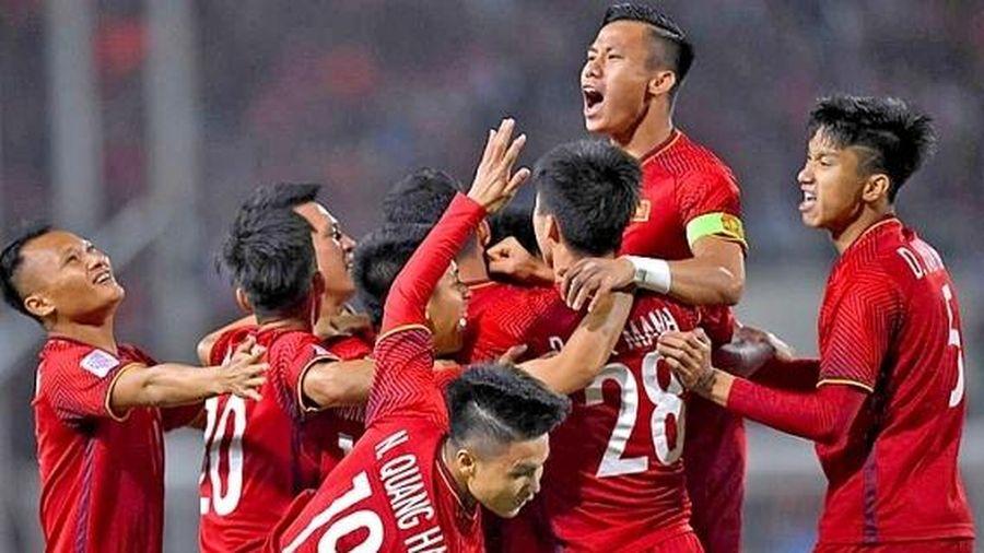 Đội tuyển Việt Nam được FIFA vinh danh trong năm 2019