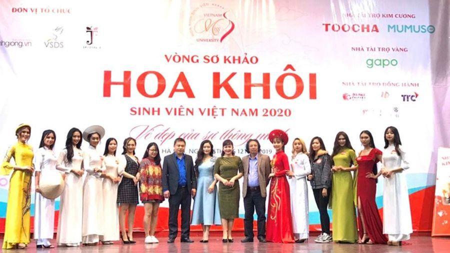 Hoa khôi Sinh viên Việt Nam 2020: Tìm kiếm vẻ đẹp của sự thông minh