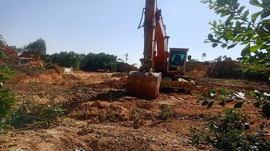 Phú Thọ: Chính quyền 'tạo điều kiện' cho doanh nghiệp khai thác đất trái phép?