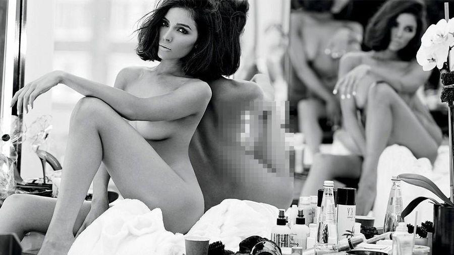 Hoa hậu Olivia Culpo 'cởi đồ' nóng bỏng trên tạp chí đàn ông