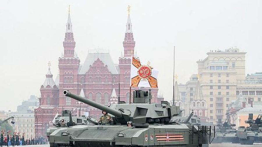 Nga có xe tăng đầu tiên trên thế giới được trang bị nhà vệ sinh