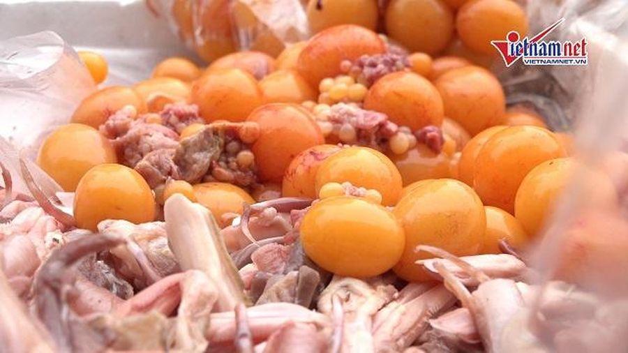 Hà Nội: Bắt giữ 2 ô tô nhập lậu đồ đông lạnh trong siêu thị