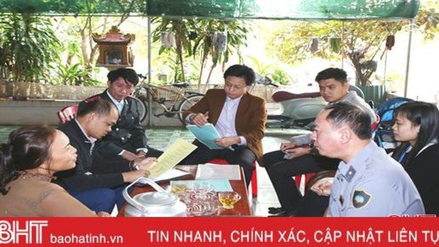 Xử phạt cơ sở sản xuất bánh mướt, bánh đa nem mất vệ sinh ở Thạch Hà