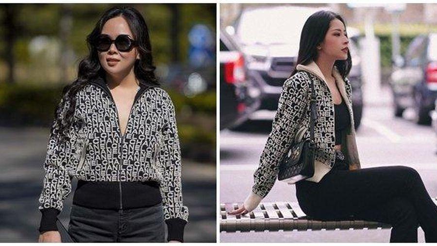 Chi Pu và Phượng Chanel đụng hàng áo khoác gần 100 triệu mà 'một trời, một vực'