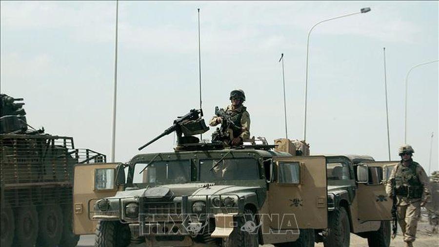 Mỹ không kích nhóm vũ trang Hồi giáo Shiite ở Iraq và Syria