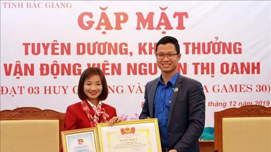 Nguyễn Thị Oanh dẫn đầu cuộc bình chọn VĐV tiêu biểu toàn quốc năm 2019