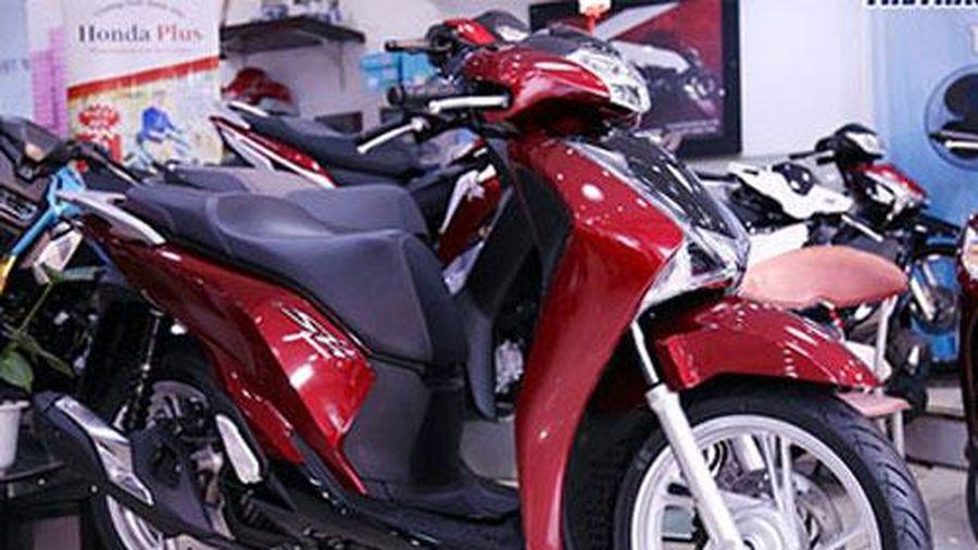 Giá Honda SH Mode, SH 150 2019 chênh cao, Winner X giảm xuống dưới giá đề xuất