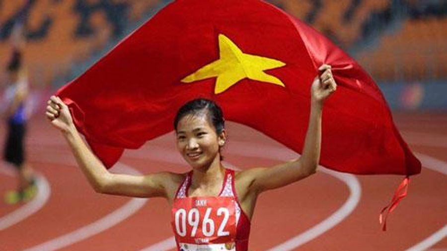 Nguyễn Thị Oanh vượt qua Ánh Viên, Huy Hoàng để giành danh hiệu VĐV tiêu biểu năm 2019