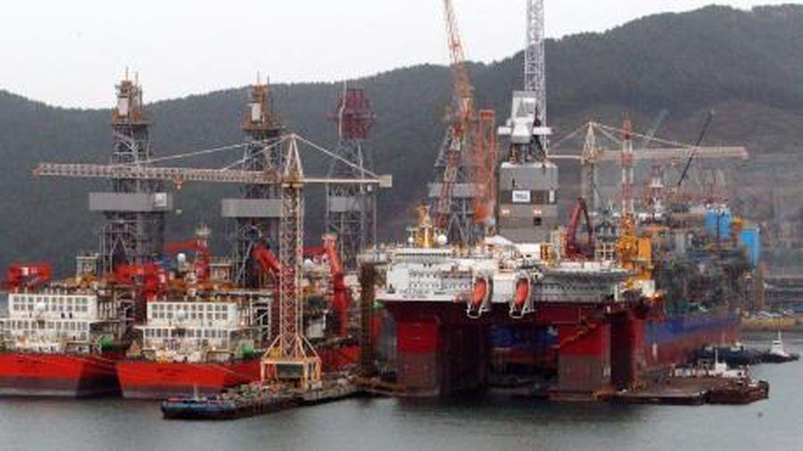 Daewoo Shipbuilding nhận số đơn hàng 'khủng' trong năm 2019