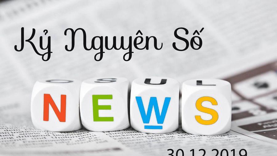 5 thông tin công nghệ đáng chú ý trong ngày 30-12