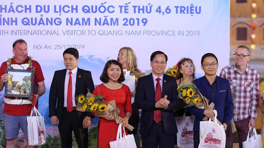 Quảng Nam: Đón vị khách du lịch quốc thế thứ 4,6 triệu trong năm 2019