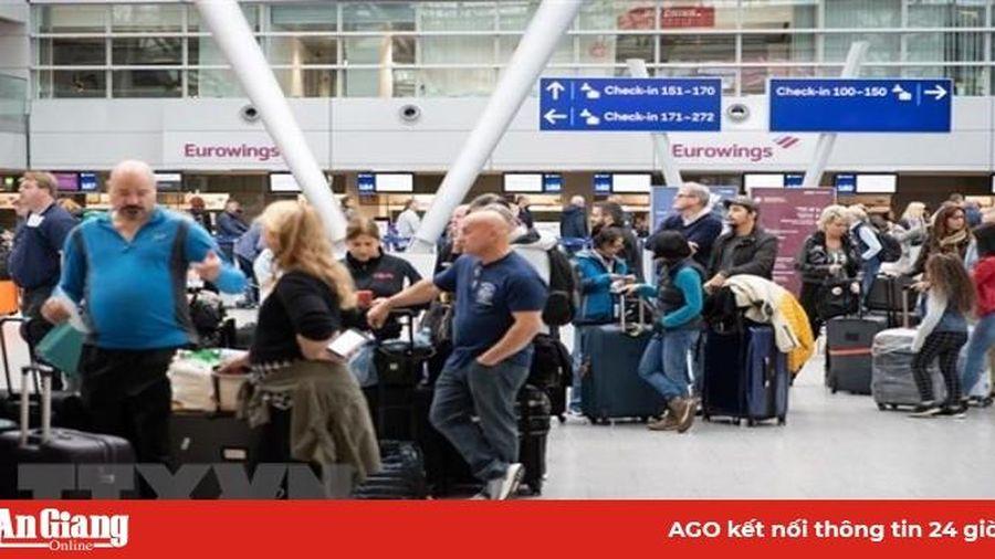 Đức: Hàng trăm chuyến bay bị hủy do phi hành đoàn đình công