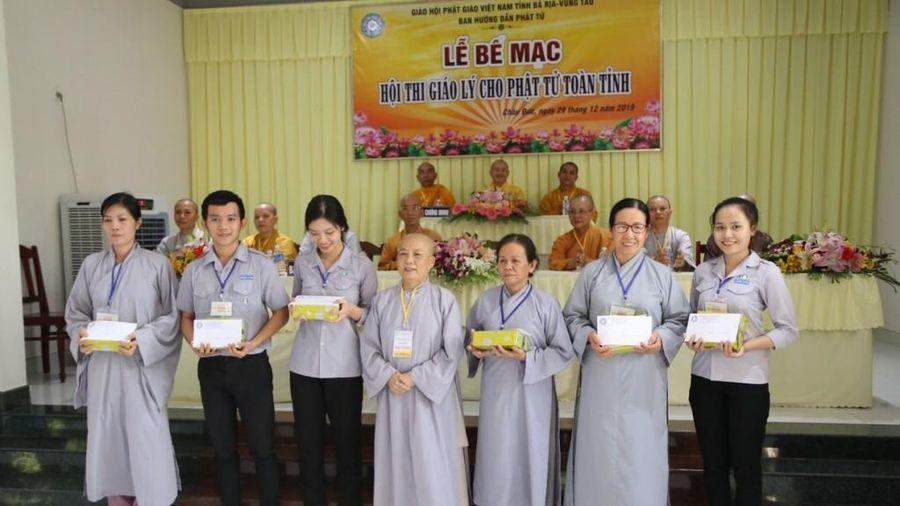 BR-VT : 500 Phật tử tham gia hội thi giáo lý