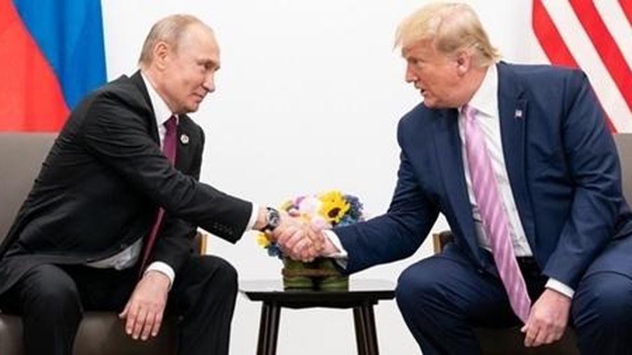 Tổng thống Putin bất ngờ gọi điện cám ơn ông Trump