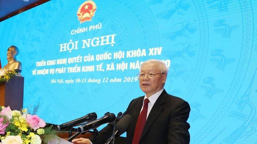 Tổng Bí thư, Chủ tịch nước: Tránh vận động phiếu bầu, chia rẽ nội bộ trước Đại hội