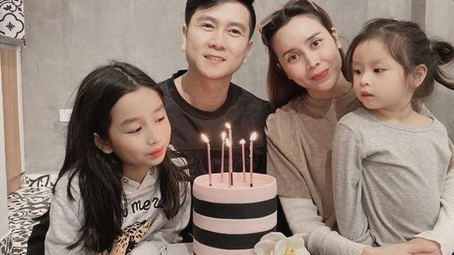 Lưu Hương Giang cùng con gái tổ chức sinh nhật Hồ Hoài Anh sau tin ly hôn
