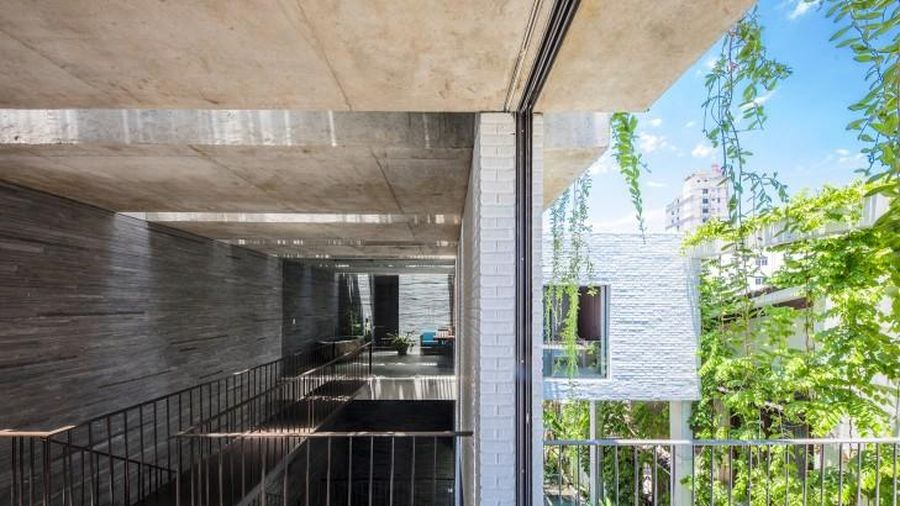 Thiết kế đưa thiên nhiên vào ngôi nhà ở Đà Nẵng