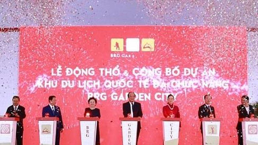 Tập đoàn BRG động thổ và công bố dự án Khu du lịch quốc tế đa chức năng tại Hà Nam