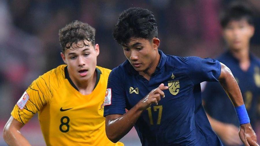Trận Thái Lan thua ngược Australia lập kỷ lục tại giải U23 châu Á