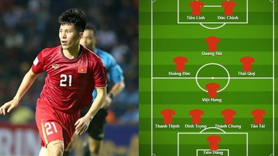 Dự đoán đội hình tối ưu của U23 Việt Nam nếu sử dụng sơ đồ 4 hậu vệ