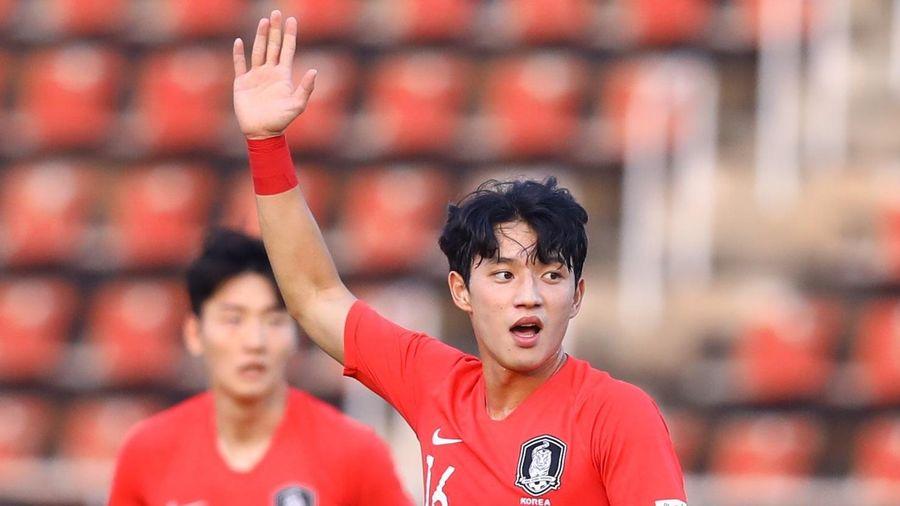U23 Hàn Quốc 1-1 Uzbekistan (hết H1): Nhà ĐKVĐ gỡ hòa đẹp mắt