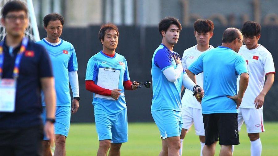HLV Park nhắc riêng 3 cầu thủ trước trận gặp CHDCND Triều Tiên