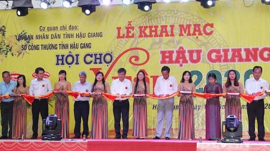 Hơn 400 gian hàng tham gia Hội chợ Xuân Hậu Giang năm 2020