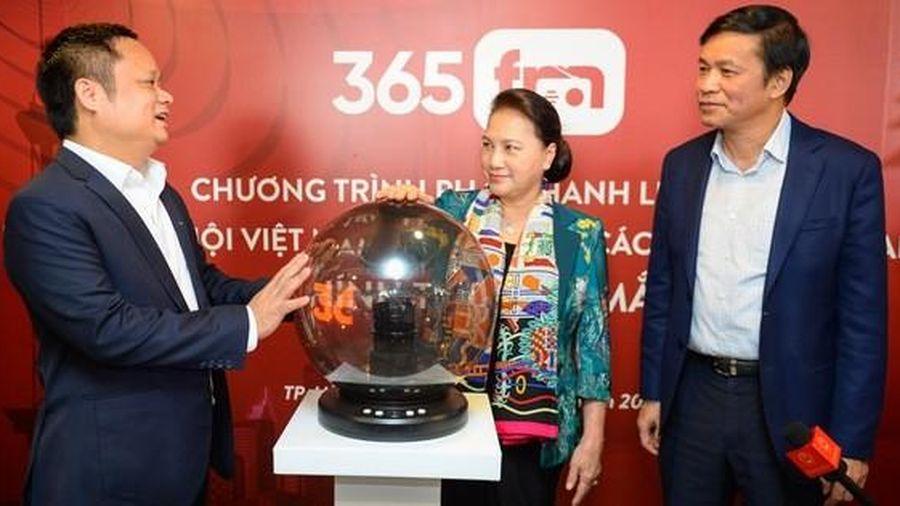 Chính thức phát sóng chương trình phát thanh liên kết 365 FM